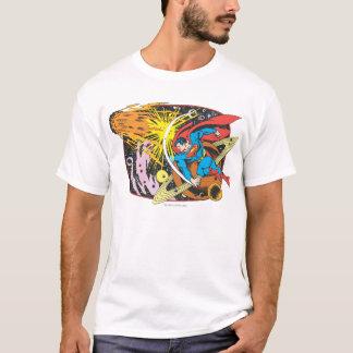 Supermann im Raum T-Shirt