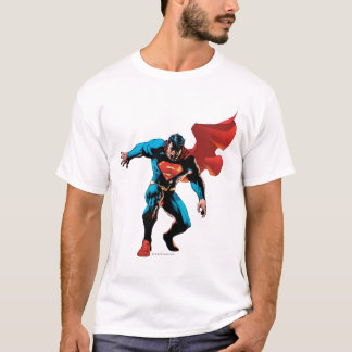 Supermann im Schatten T-Shirt