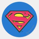 Supermann-Klassiker-Logo Aufkleber