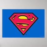 Supermann-Klassiker-Logo Posterdrucke