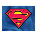 Supermann-Klassiker-Logo Postkarten