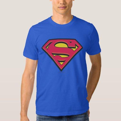Supermann-Klassiker-Logo T-shirt