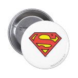 Supermann-Logo Button