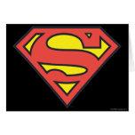 Supermann-Logo Grußkarte