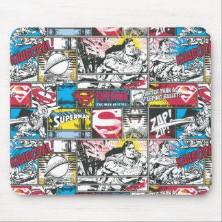 Supermann-Logo-Muster 2 Mousepads