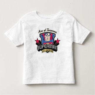 Supermann - Mann von morgen Kleinkinder T-shirt