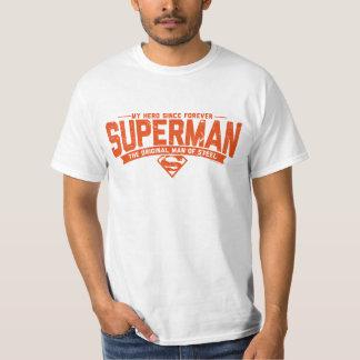 Supermann - mein Held seit für immer T-Shirt
