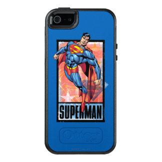 Supermann mit dunkler Grenze OtterBox iPhone 5/5s/SE Hülle