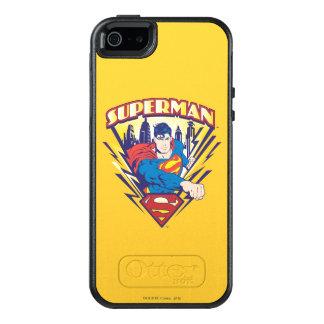 Supermann mit Strom OtterBox iPhone 5/5s/SE Hülle