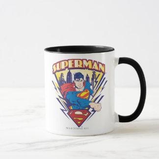 Supermann mit Strom Tasse