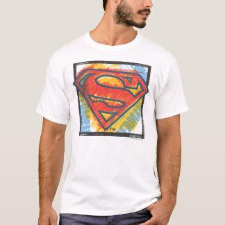 Supermann S-Schild | farbiges Logo T-Shirt