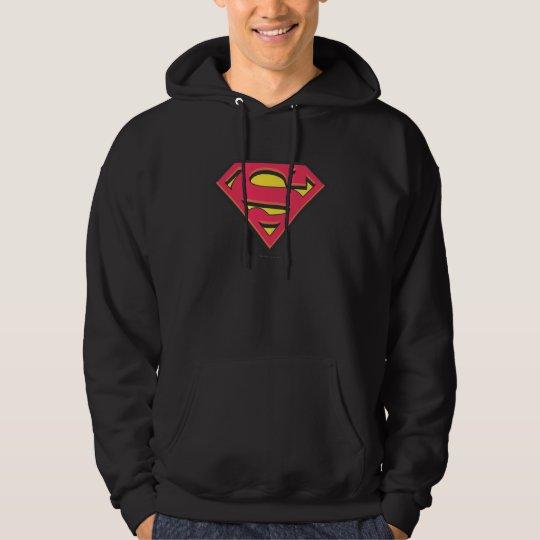 Supermann S-Schild   klassisches Logo Hoodie