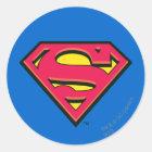 Supermann S-Schild   klassisches Logo Runder Aufkleber