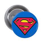 Supermann S-Schild | klassisches Logo Runder Button 5,7 Cm