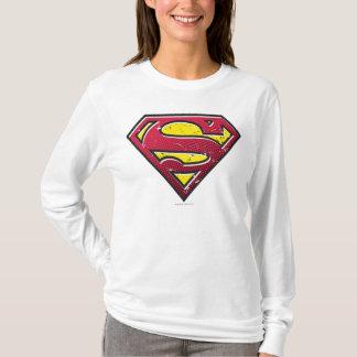 Supermann S-Schild | Kratzer-Logo T-Shirt