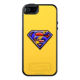 Supermann S-Schild | lila Spritzpistolen-Logo OtterBox iPhone 5/5s/SE Hülle