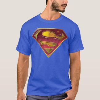 Supermann S-Schild | Reflexions-Logo T-Shirt