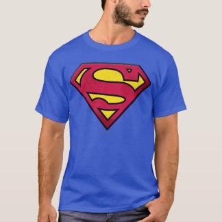 Supermann S-Schild   Schmutz-Logo T-Shirt