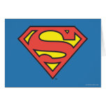 Supermann S-Schild | Supermann-Logo Grußkarte