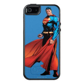 Supermann schaut vorder OtterBox iPhone 5/5s/SE hülle
