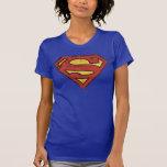 Supermann-Schmutz-Logo Tshirt