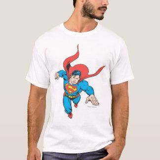 Supermann springt vorwärts T-Shirt