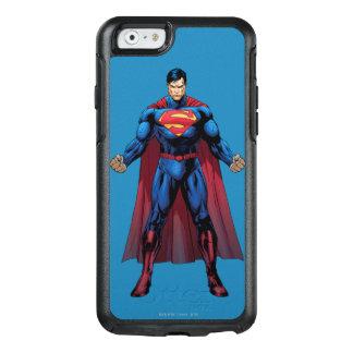 Supermann stehende 3 OtterBox iPhone 6/6s hülle