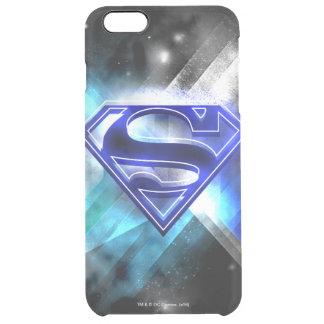 Supermann-stilisiertes | blaues weißes durchsichtige iPhone 6 plus hülle
