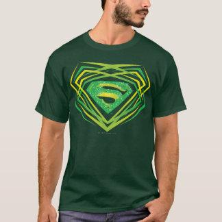 Supermann-stilisiertes | grünes dekoratives Logo T-Shirt