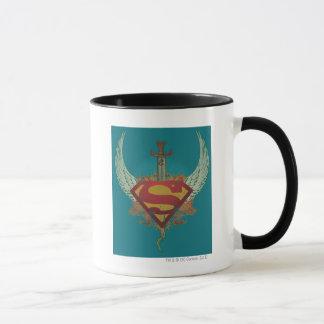 Supermann Stylized | Flügel-aquamarines Tasse