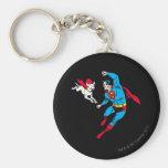 Supermann und Krypto 2 Schlüsselbänder