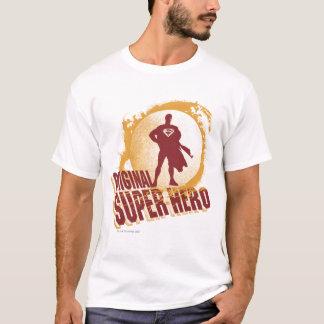 Supermann-ursprünglicher Superheld T-Shirt
