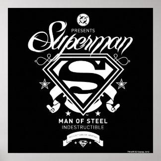 Supermann-Wappen Plakat