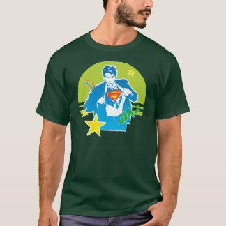 Supermannachtziger jahre Art T-Shirt