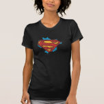 Supermannlogo in den Wolken Hemd