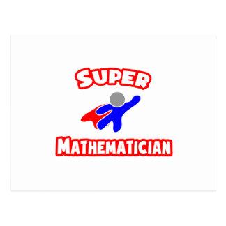 Supermathematiker Postkarte