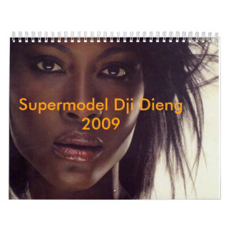 Supermodel Dji Dieng 2009 Kalender
