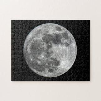 Supermoon Mond-Puzzlespiel Puzzle