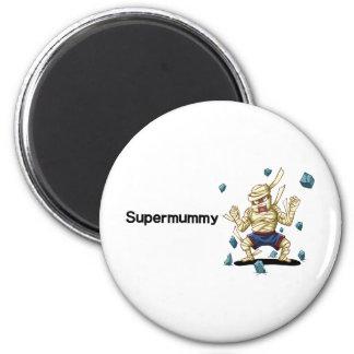 Supermummy Runder Magnet 5,1 Cm