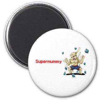 Supermummy Runder Magnet 5,7 Cm