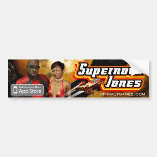 Supernova Jones Autoaufkleber