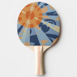 SUPERNOVA Klingeln-Pong Paddel Tischtennis Schläger