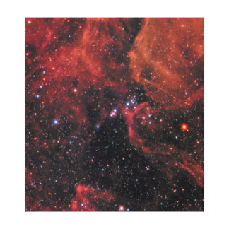 Supernova Leinwanddruck