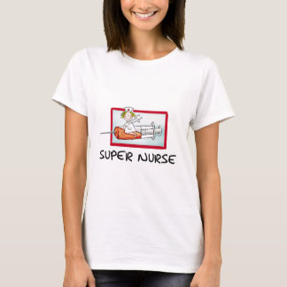 supernurse - humorvolle Cartoon-Krankenschwester T-Shirt