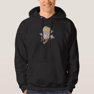 Superpfannkuchencharakter des albernen Superhero Hoodie