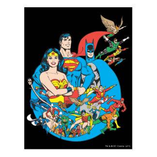 SuperPowers™ Sammlung 1 Postkarte