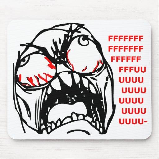 Superrasereigesicht meme rofl mousepads