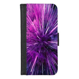 Superschall - herrliches Lila iPhone 8/7 Geldbeutel-Hülle