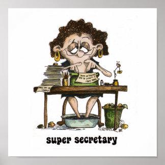 Supersekretär Poster