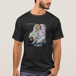 SuperShibe AstronautDoge T-Shirt